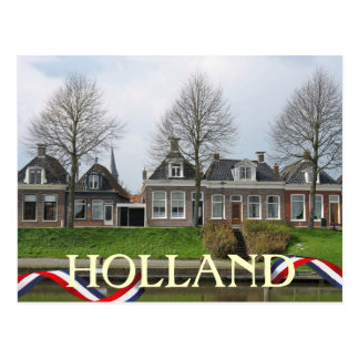 Postal del pueblo de Holanda