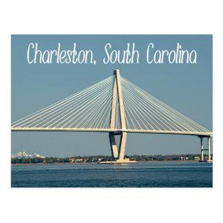 Postal del puente de Charleston Carolina del Sur R