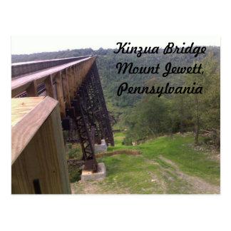 Postal del puente de Kinzua