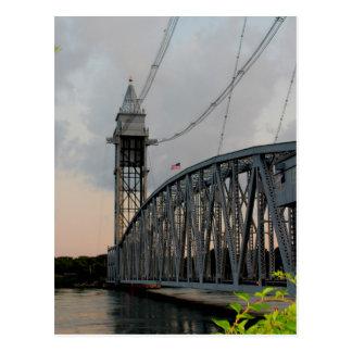Postal del puente del canal de Cape Cod