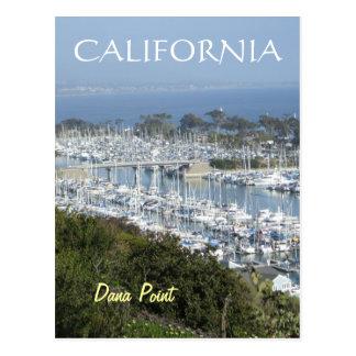Postal del puerto deportivo de Dana Point (v)
