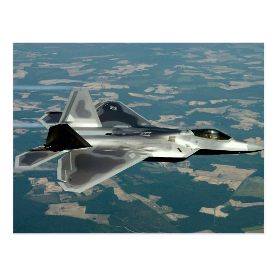 Postal del rapaz F-22