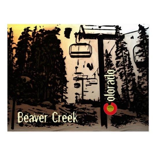 Postal del remonte de Colorado del Beaver Creek