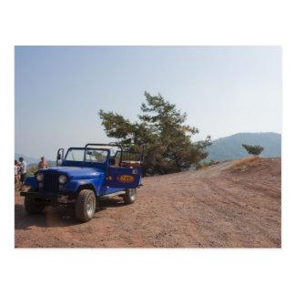 Postal del safari del jeep de Turquía