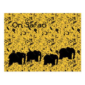 Postal del safari
