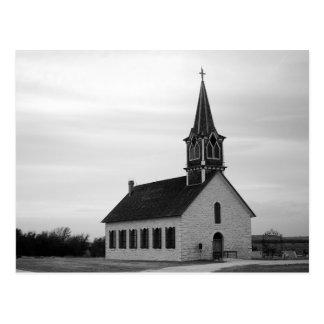 Postal del St Olaf Kirke (la iglesia vieja de la