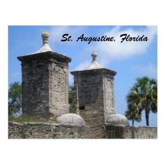 Postal del St St Augustine la Florida