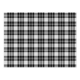 Postal del tartán de Black&White