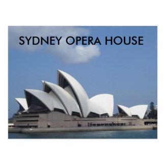 Postal del teatro de la ópera de Sydney