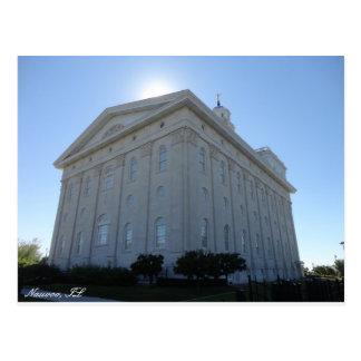 Postal del templo de Nauvoo LDS