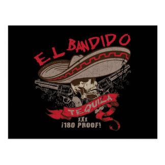 Postal del Tequila del EL Bandido