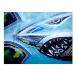 Postal del tiburón de Chromie DA