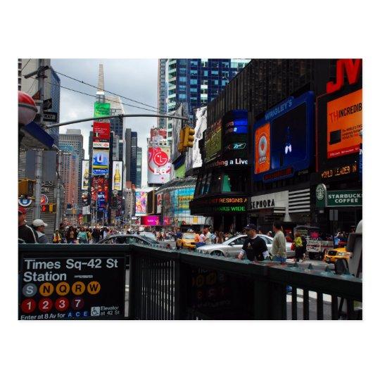 Postal del Times Square