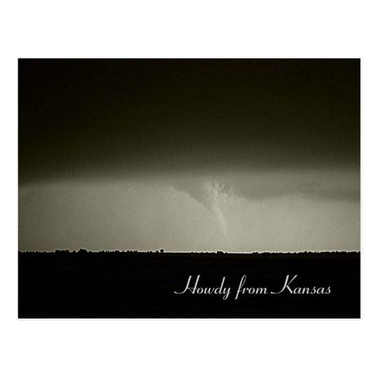 Postal del tornado
