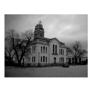 Postal del tribunal del condado de Lampasas