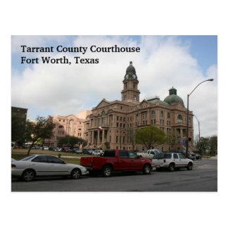 Postal del tribunal del condado de Tarrant (día)