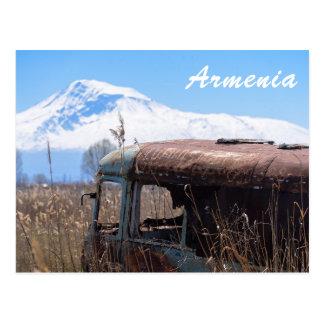 Postal del turista de Armenia