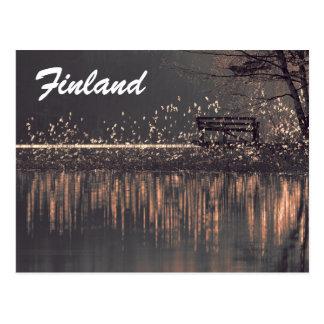Postal del turista de Finlandia