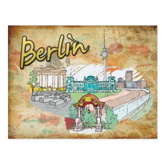 Postal del viaje de Alemania Berlín
