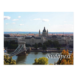 Postal del viaje de Budapest