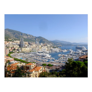 Postal del viaje de Monte Carlo Mónaco