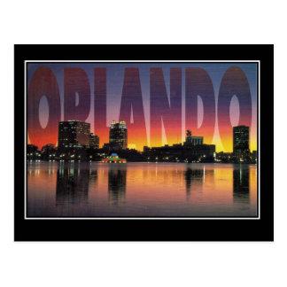 Postal del viaje del vintage de Orlando la Florida