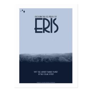 Postal del viaje espacial - Eris