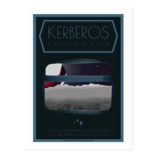 Postal del viaje espacial - Kerberos
