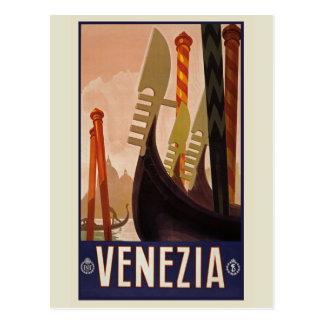Postal del vintage de Venezia