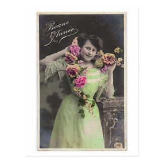 Postal del vintage del Victorian