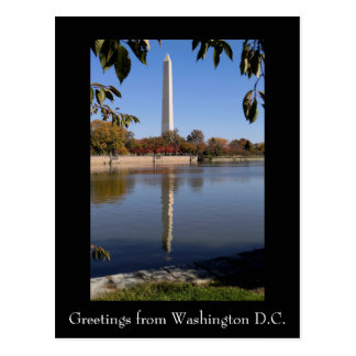 Postal del Washington DC