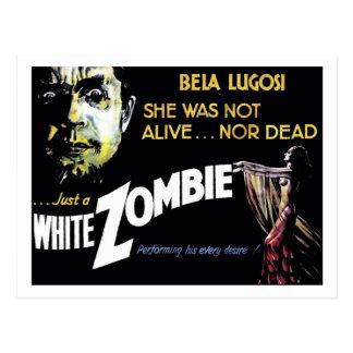 """Postal del """"zombi blanco"""""""