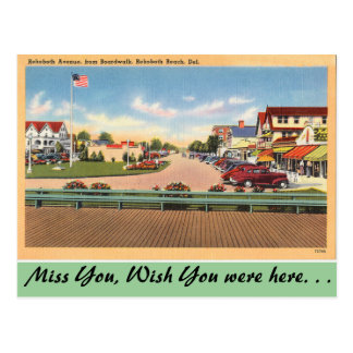 Postal Delaware, avenida de Rehoboth
