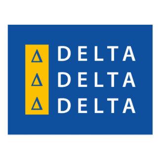 Postal Delta el | del delta del delta apilado