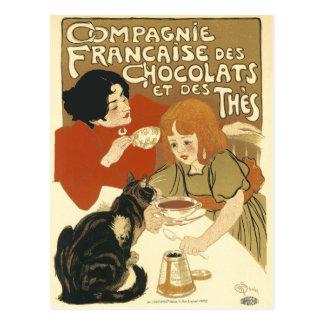 Postal: DES Chocolats de Compagnie Francaise Postal
