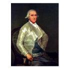Postal Descripción sumaria Retrato de Francisco Bayeu Dat