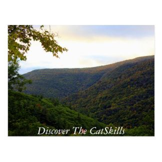 Postal Descubra el Catskills