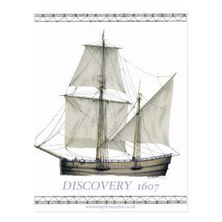Postal descubrimiento 1607