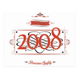 Postal Desde 2008 (Red&Black)