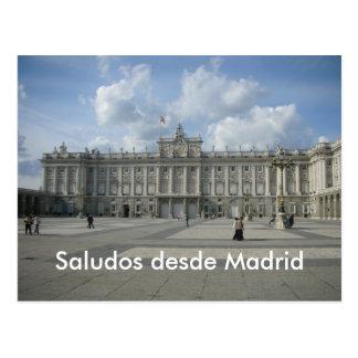 Postal Desde Madrid de Saludos