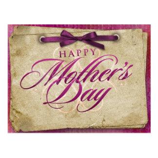 Postal Deseos felices del día de madre