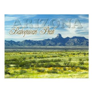 Postal Desierto máximo de Baboquivari, Arizona