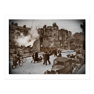 Postal Después del bombardeo de Londres