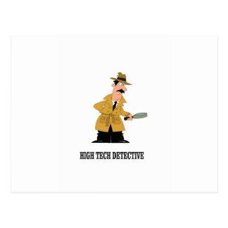 Postal detective de alta tecnología