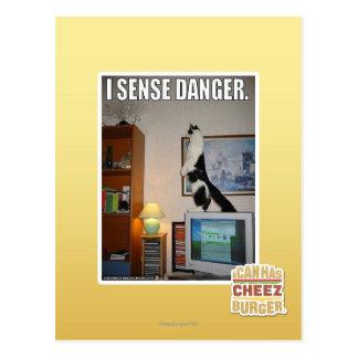 Postal Detecto peligro