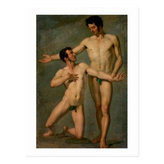 Postal Deux se dirige nus
