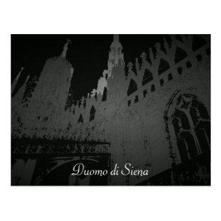 Postal Di Siena del Duomo