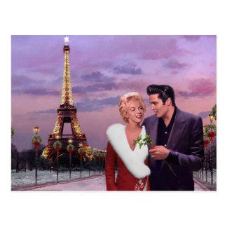 Postal Día de fiesta de París
