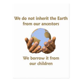 Postal Día de la Tierra