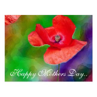 Postal Día de madres feliz.
